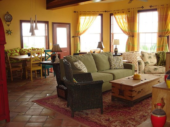The Landings at Tres Cocos: Living area of Bermuda Beach A3.