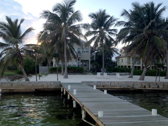 The Landings at Tres Cocos: Bermuda Landing from the dock.