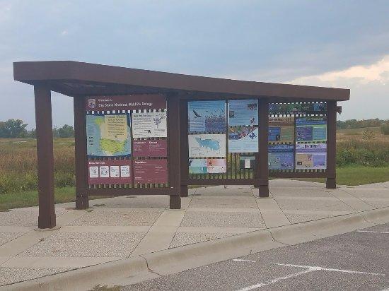 Odessa, MN: Kiosk info.