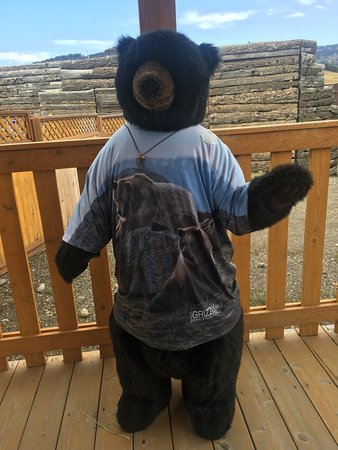Bozeman, MT: Welcome bear