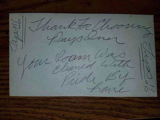 Richfield, UT: Tip request envelope