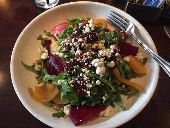 South Pasadena, CA: Beet arugula salad