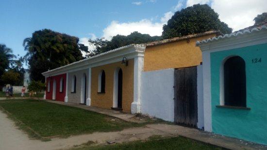 Centro Historico : Casas/; algumas usadas como comércio e outras sem moradores.