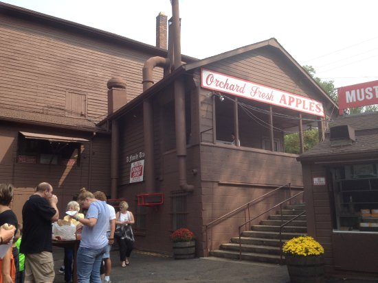 Franklin Cider Mill: exterior side view