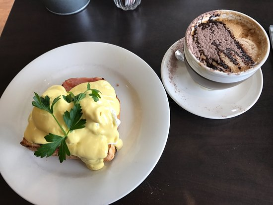 "Angaston, Avustralya: Have eaten here before and again it has dominated best thing about the cappuccino in the mug ""no"