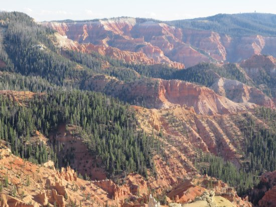 Cedar Breaks National Monument: Stunning formations as far a the eye can see