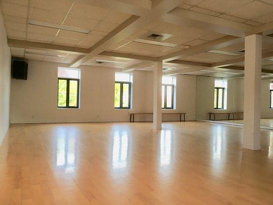 La nouvelle salle du Studio yoga Shanti au 690 notre-Dame, Joliette