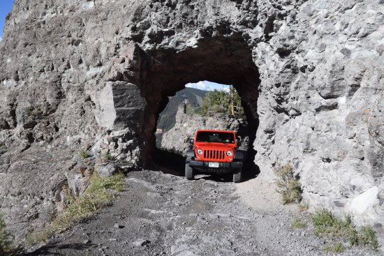 Mountain Village, CO: Social Tunnel on road to Tomboy Mine