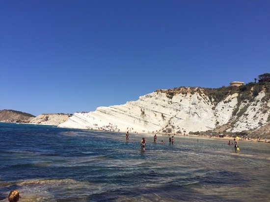 Scala dei Turchi: View from a distance