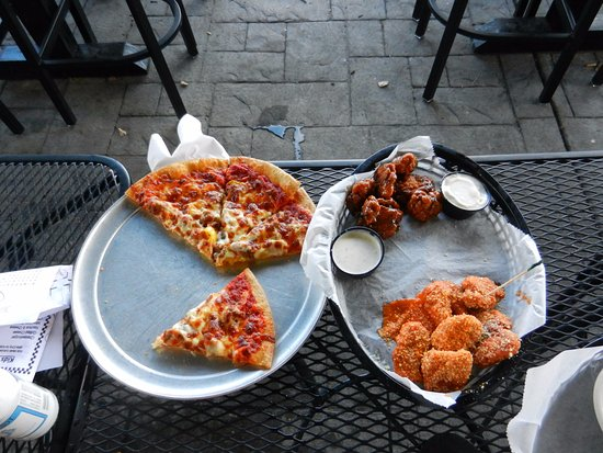 Hebron, KY: 1/2 Price Pizza and Boneless Wings