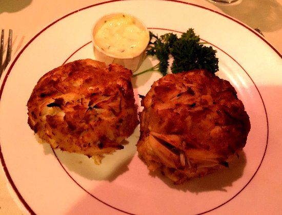 Progress Grill: Broiled crab cakes