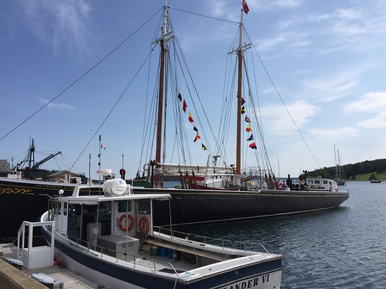 Lunenburg, Kanada: The replica of the famous schooner