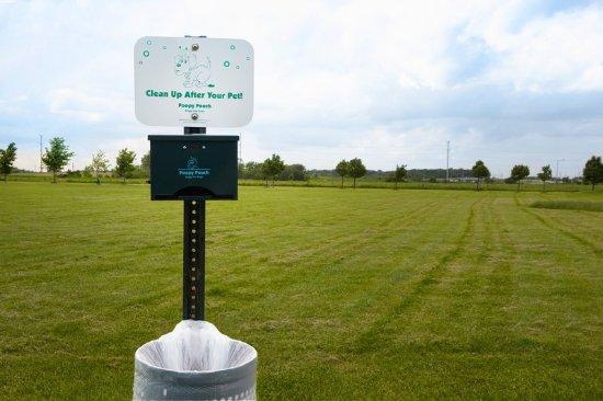 Aurora, IL: Pet Walking Area