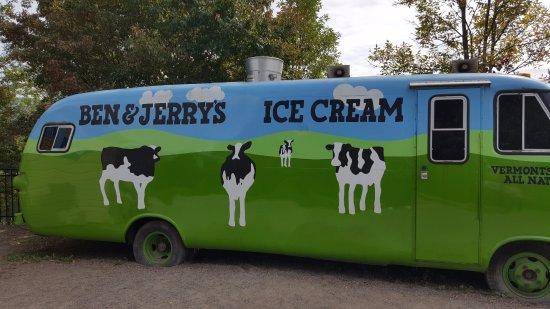 Waterbury, VT: The travel van