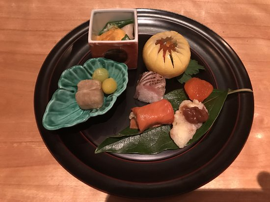 Hyatt Regency Kyoto: dinner at Touzan