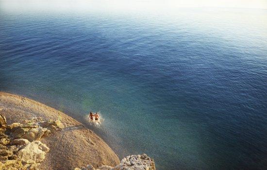 Sun Gardens Dubrovnik : Beach