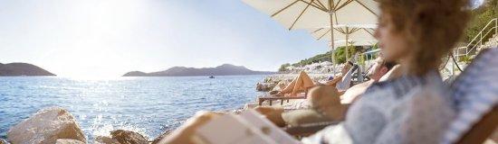 Orasac, كرواتيا: Vip Beach Area