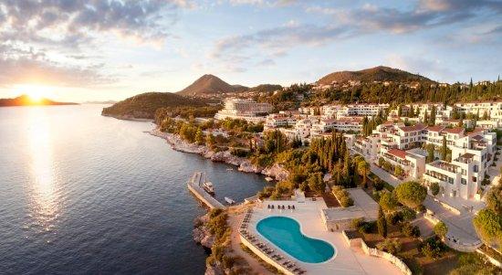 Sun Gardens Dubrovnik : Resort Aerial