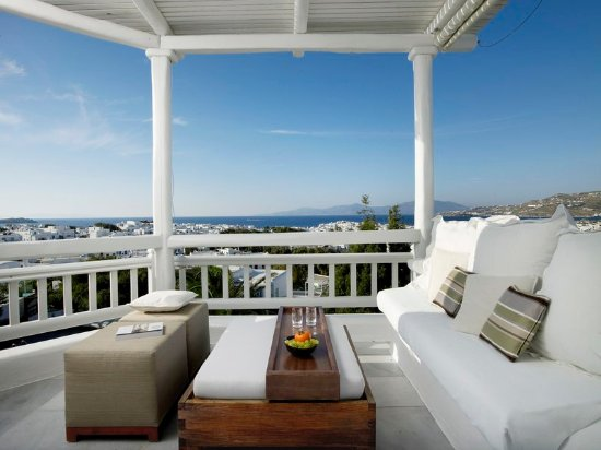 Belvedere Hotel Mykonos: Panoramic Room Spectacular Sea View