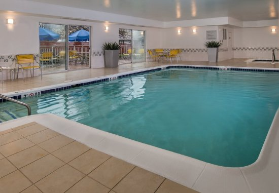 Indoor pool and hot tub  Indoor Pool & Hot Tub - Picture of Fairfield Inn & Suites ...
