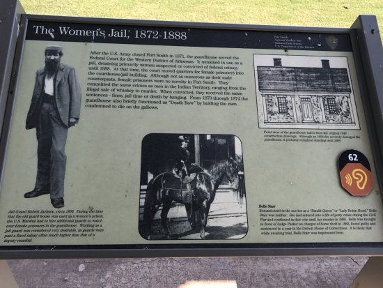 The women jail at Fort Smith