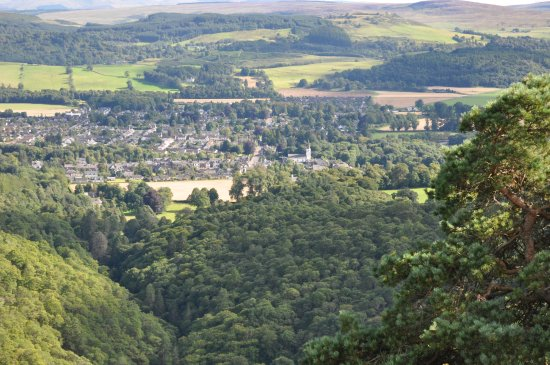 Comrie from the top