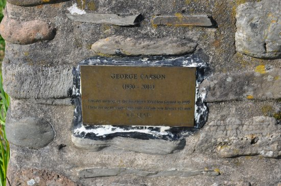 Comrie, UK: Plaque