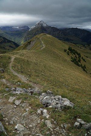 Zweisimmen, Ελβετία: Rinderberg to Hornberg