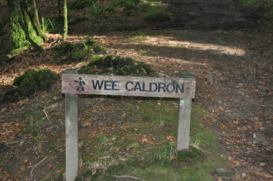 Comrie, UK: Path to the Wee Cauldron