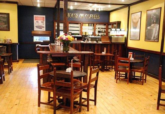 Harrismith, Afrika Selatan: Coffee Shop