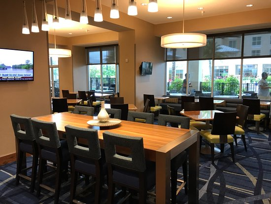 Rea Do Caf Da Manh Picture Of Springhill Suites Orlando At Flamingo Crossings Western