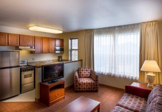 Saint Louis Park, MN: Studio Suite - Living Area