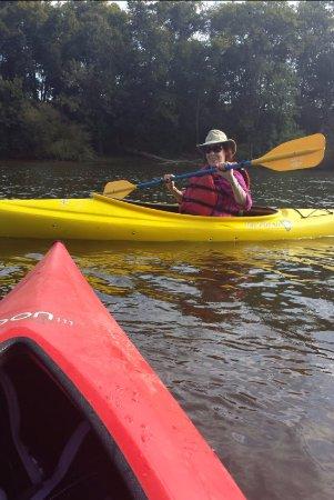 Lillington, Kuzey Carolina: Kayaking on the Cape Fear River Sept 2017