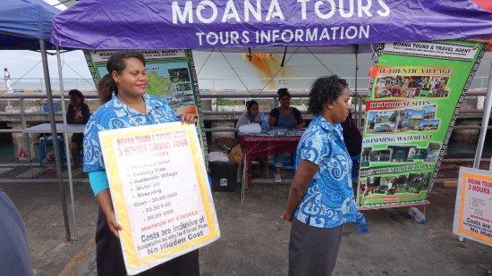 Suva, Fiji: At dockside