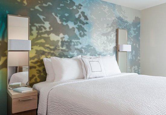 Stafford, VA: King Guest Room Sleeping Area