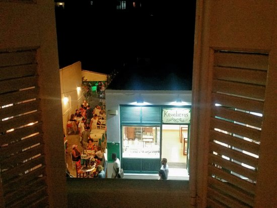 Hotel Capetan Giorgantas : Room with a view