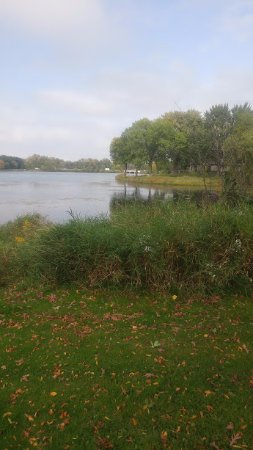 Shoreview, MN: view of the lake