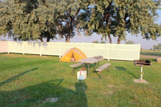 Douglas, WY: spacious campground