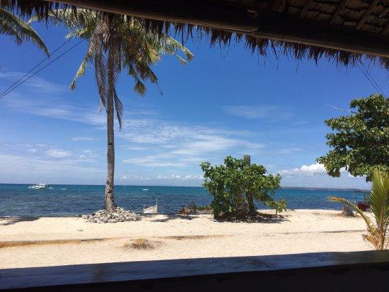 Daanbantayan, Philippines: 席から