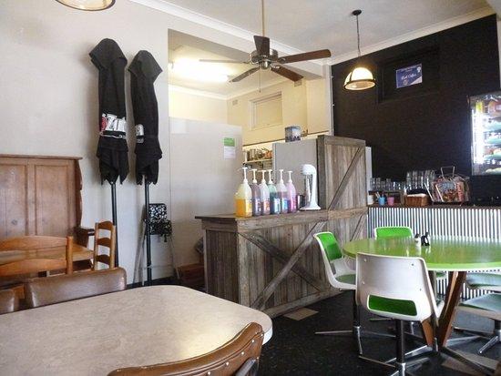Nowra, Australia: Interior of cafe