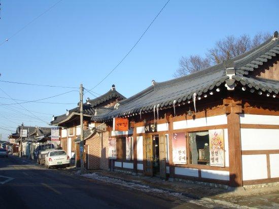 Jeonju, Coréia do Sul: 韓屋村
