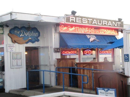 Dolphin Restaurant The Wharf Area Santa Cruz Ca Picture Of