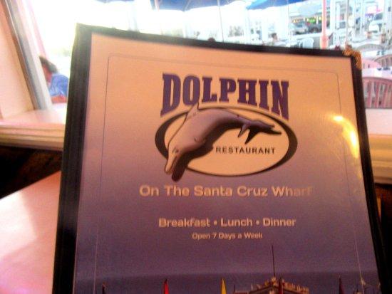 Menu The Dolphin Restaurant Santa Cruz Ca Picture Of Dolphin
