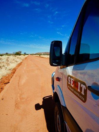 Yulara, Austrália: Heading to Cave Hill (on the border of SA & NT)