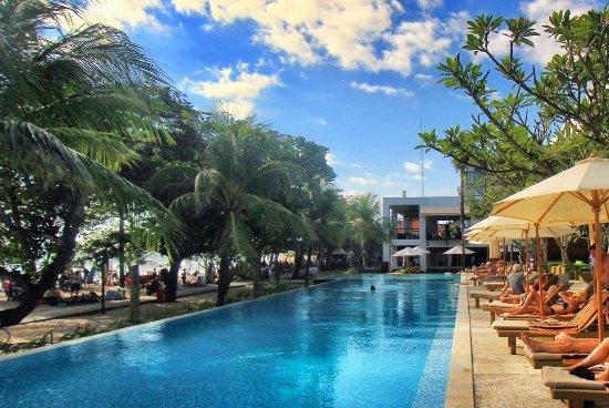 Grand Inna Kuta Sunset Pool At Hq Beach Club