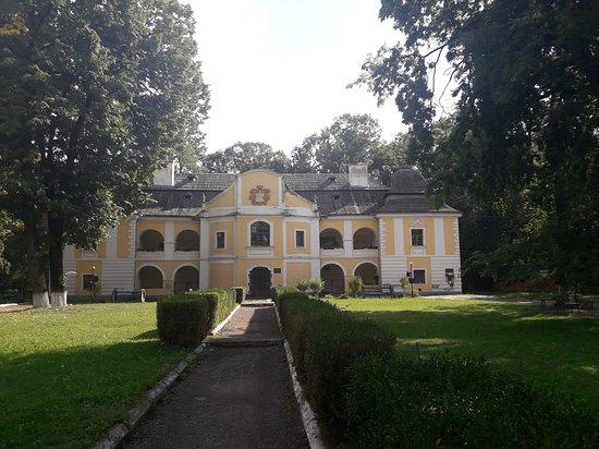 Vynohradiv, أوكرانيا: Усадьба барона Перени