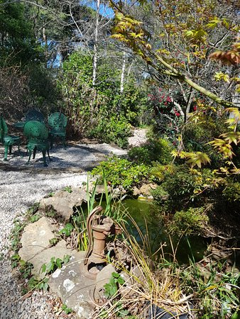 Wentworth Falls, Australia: Smoking area
