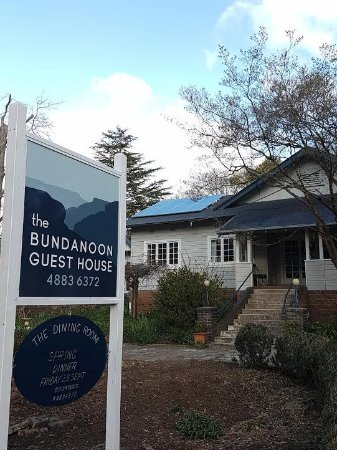 Bundanoon, Australia: Front of house