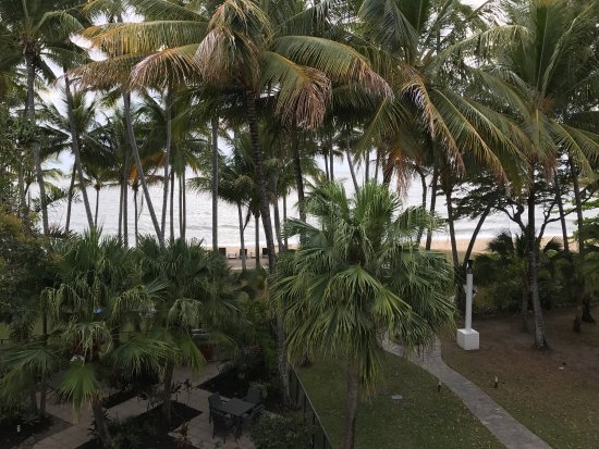 view from our room picture of alamanda palm cove by. Black Bedroom Furniture Sets. Home Design Ideas