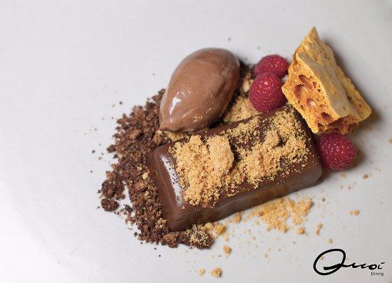 Baulkham Hills, Australia: Dark chocolate, hazel nut, honeycomb